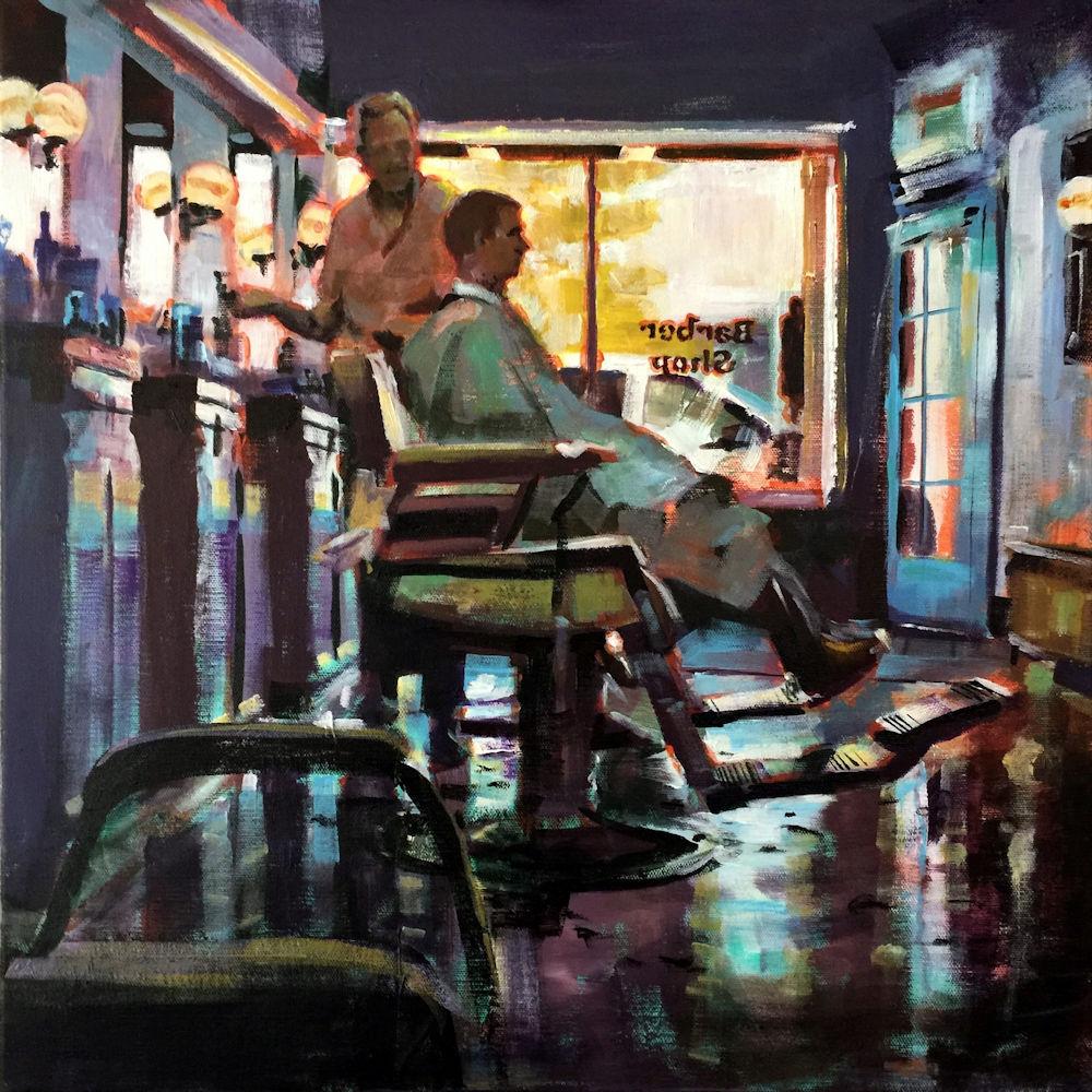 Spencer Meagher, Barber Shop