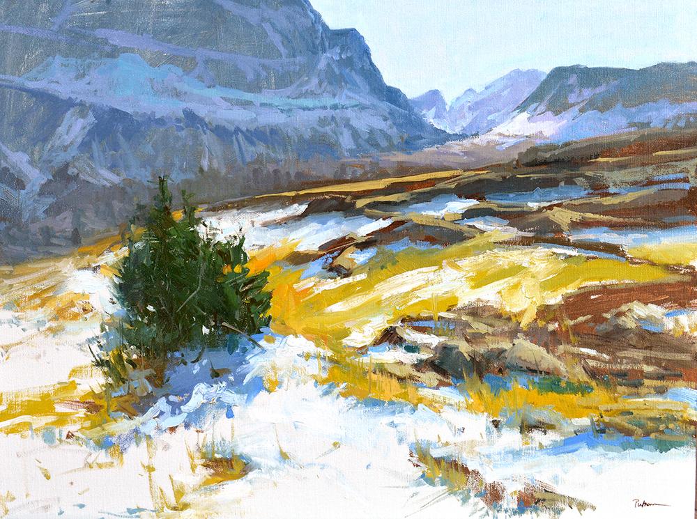Lori Putnam, Fall at Logan Pass