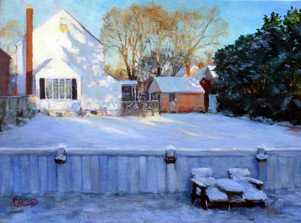 Ray Hassard, Morning After the Storm