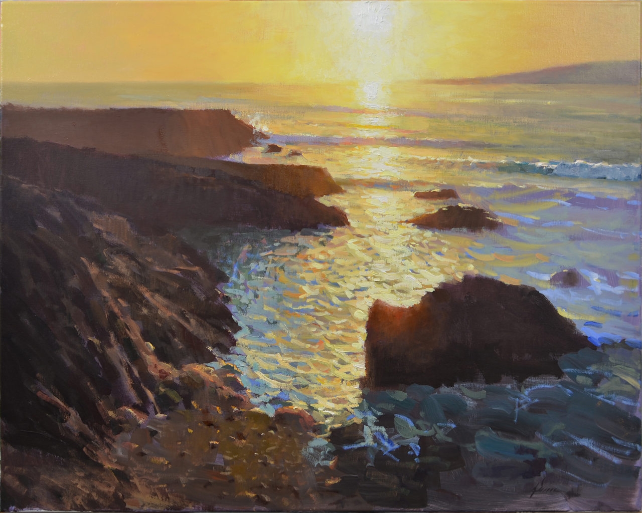 Jason Sacran, Carmel Sunset