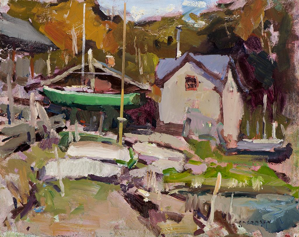 Eric Jacobsen, Boatyard