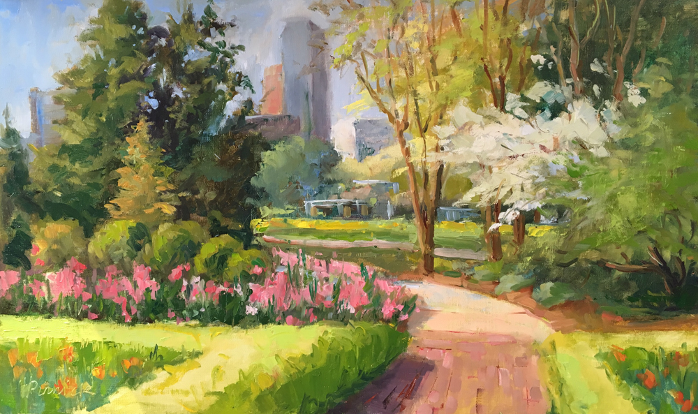 Brenda Pinnick, Botanical Gardens