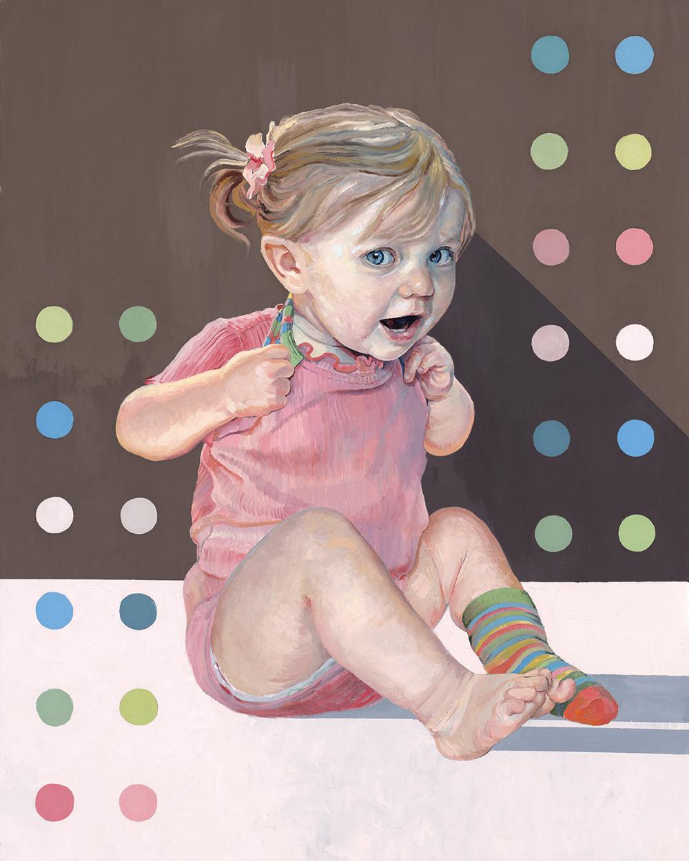 Gaylynn Ribeira, Socks and Dots