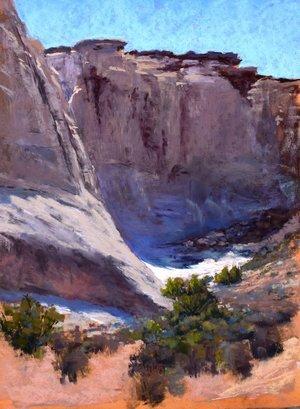Emerging, Kathy Howard, Navajo Sandstone