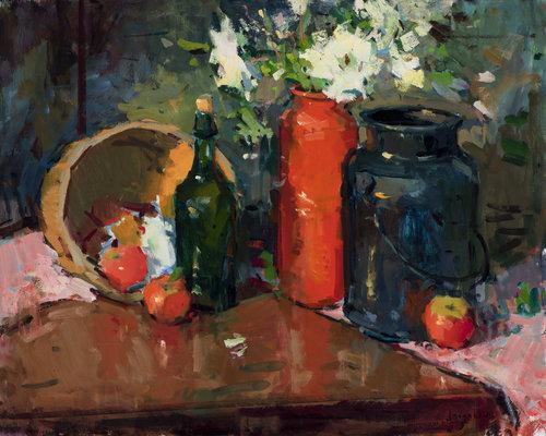 Eric Jacobsen, The Red Vase