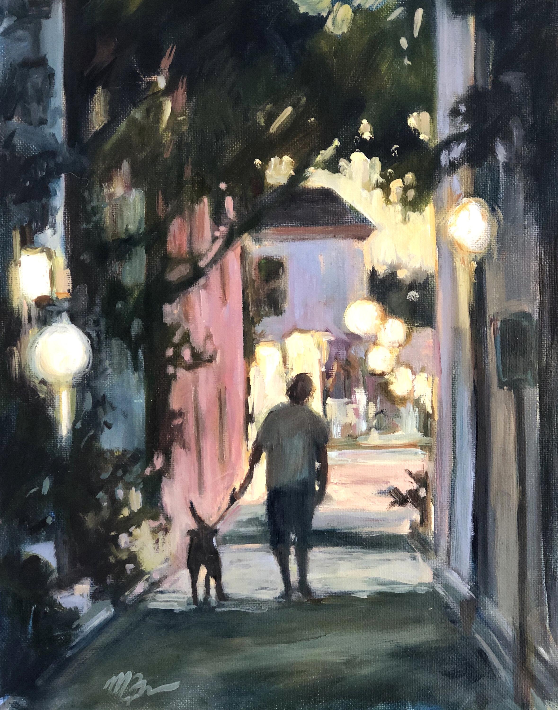 Martha Ferguson, Evening Walk