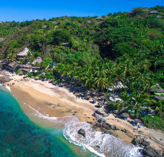 THE BEACH AT PLAYA ESCONDIDA