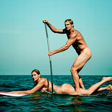 GABBY  REECE  & LAIRD  HAMILTON   Featured 8.8-8.14 Pro Volleyball Player, Badass Surfing Legend, Models, Parents + All Around Serious Power Couple