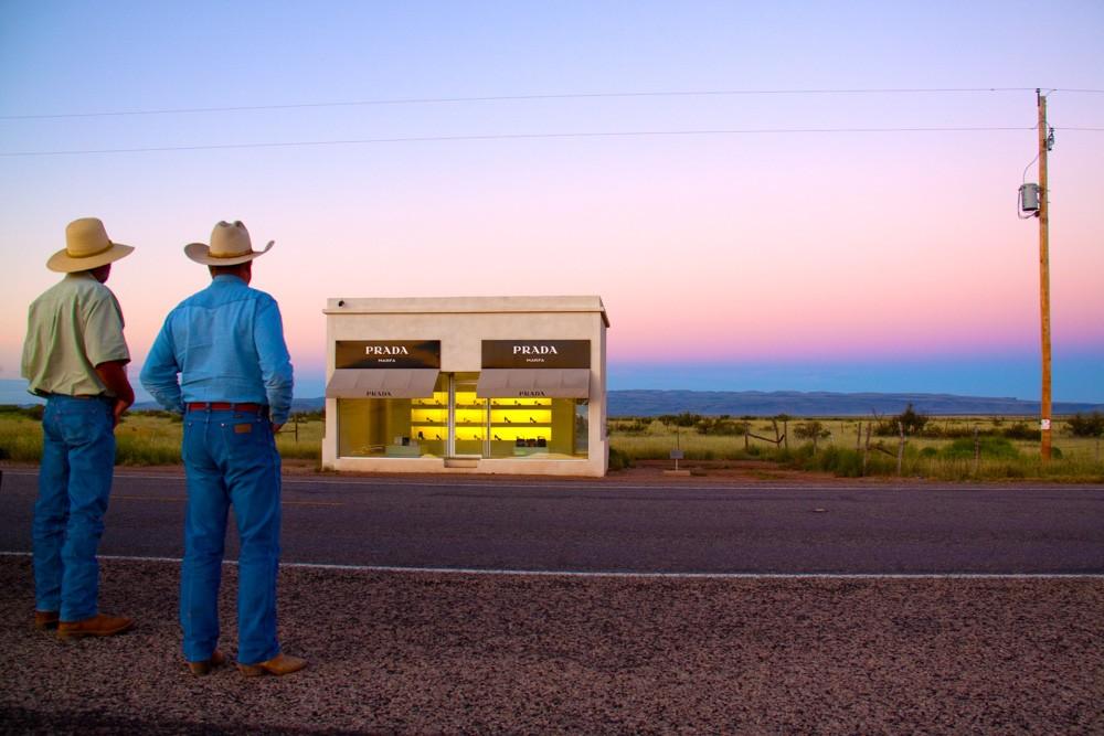 GRAY MALIN'S  TWO COWBOYS , MARFA, TX
