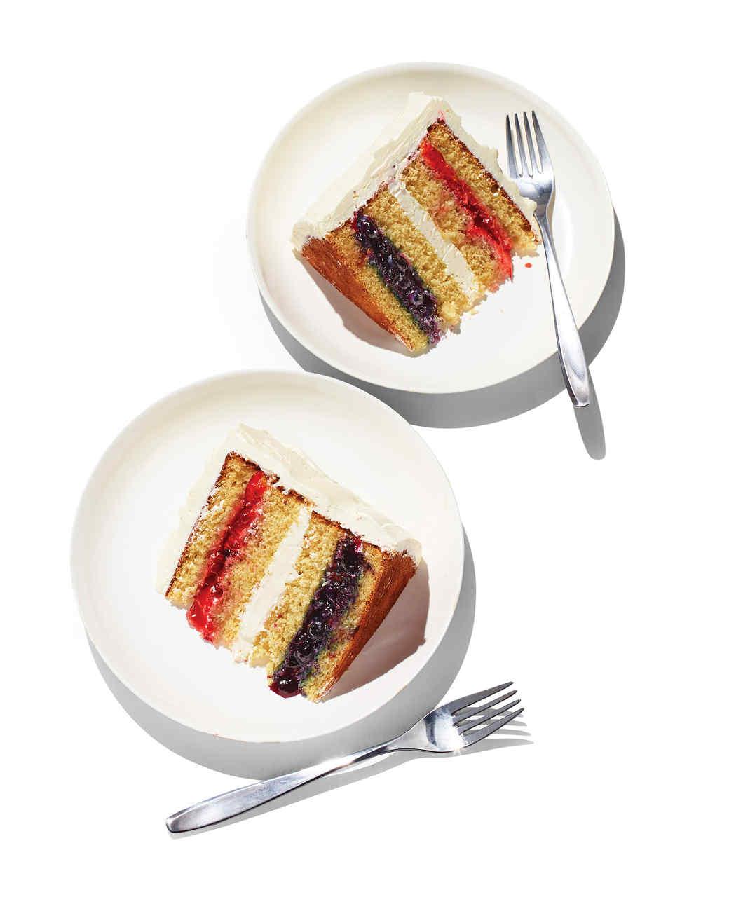 Flag Layer Cake