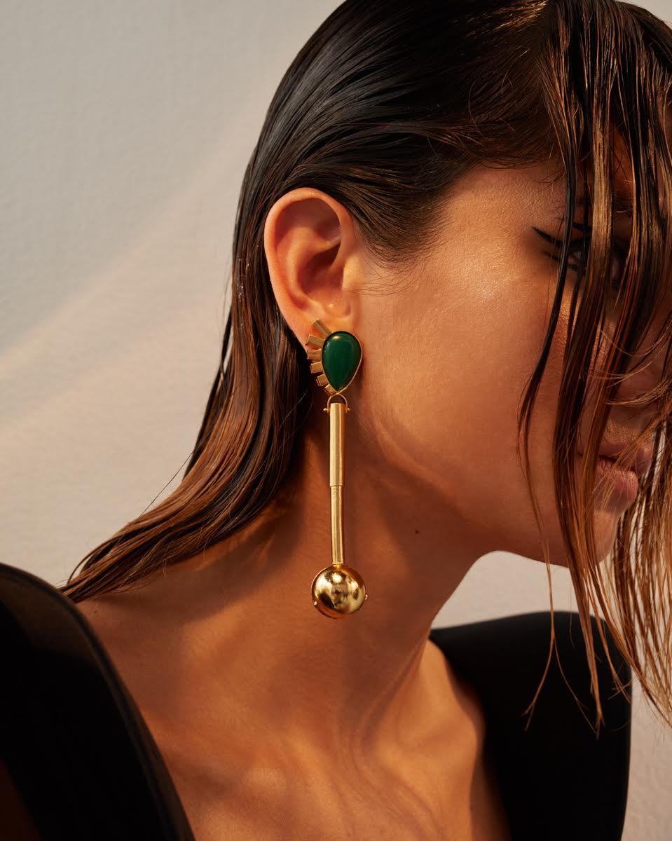 Spartacus Lapislazuli Earrings