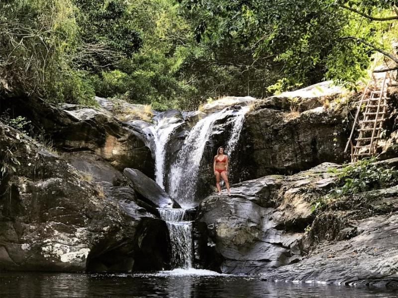Olangoan Falls