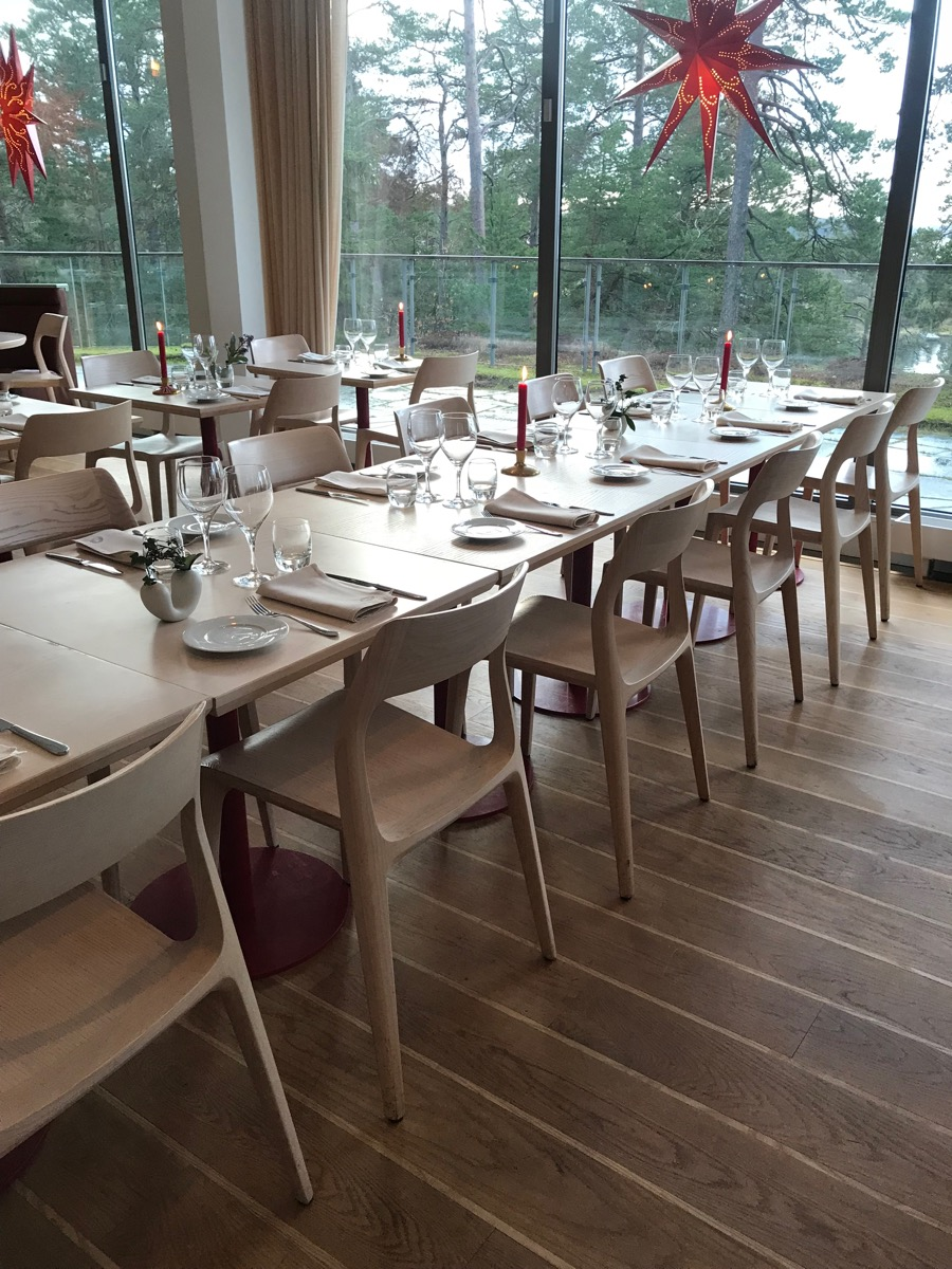 The Dining Room at Artipelag