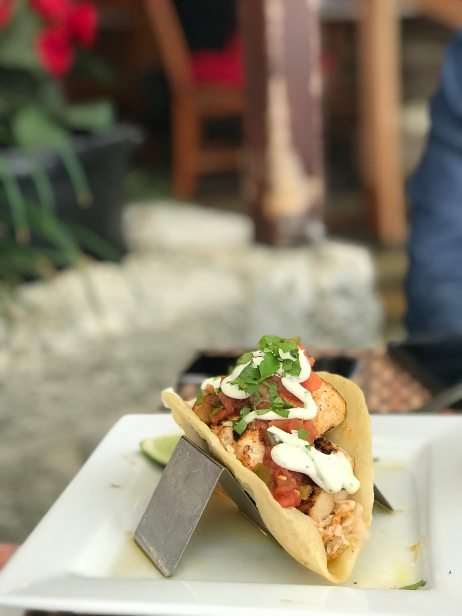 Wahoo Tacos at Wahoos