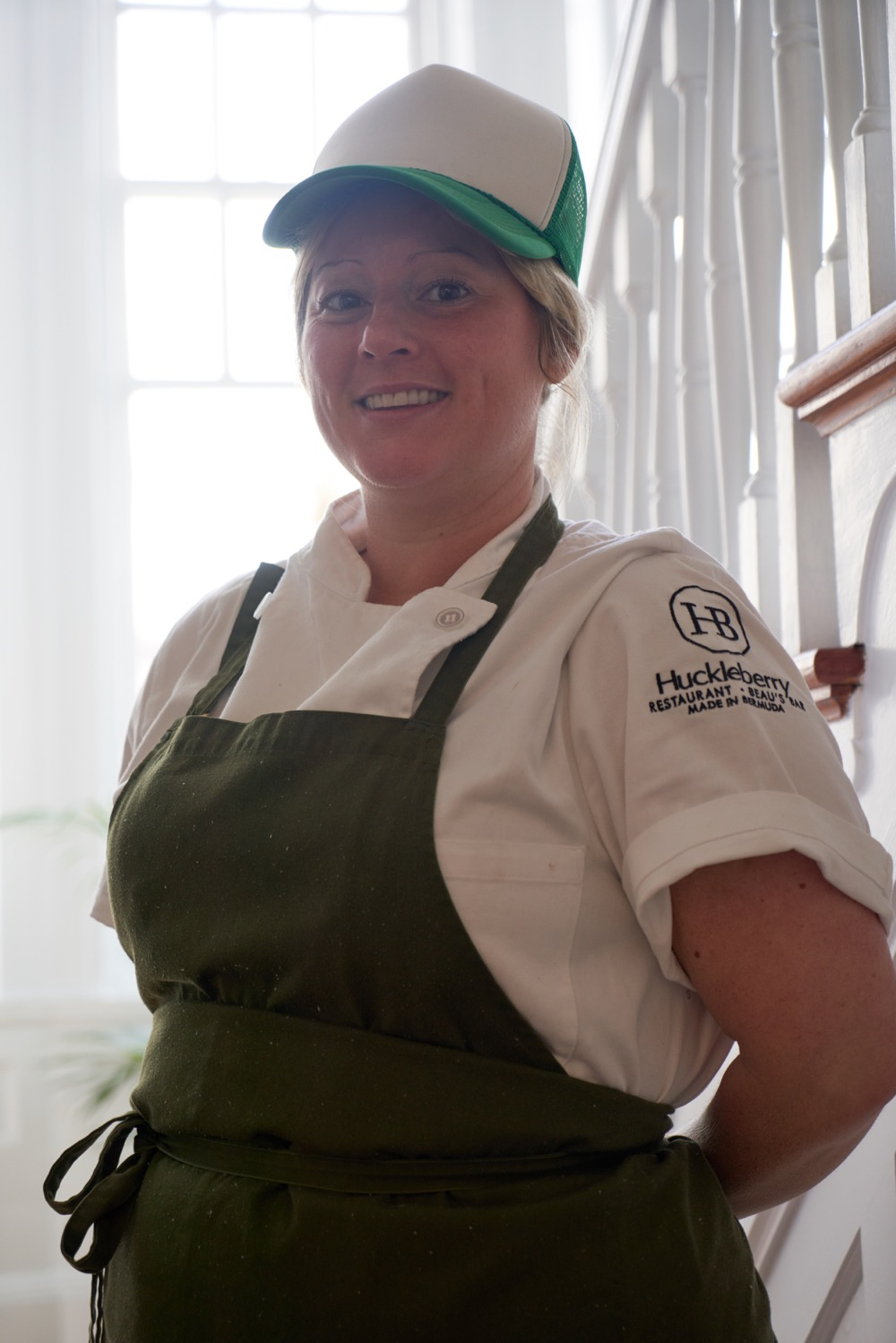 Chef Lucy Collins of Huckleberry