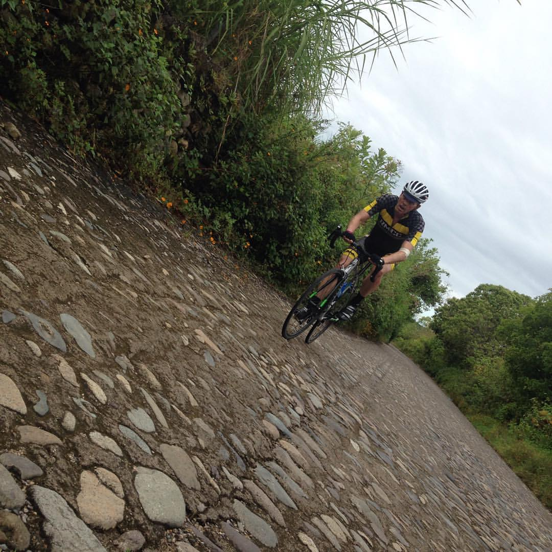 Puerto Vallarta Cycling Tours with Bici Bucerias - The cobble to San Sebastian