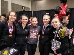 Level 8's from 2016: Olivia, Rylie, Sophie, Stella, Grayce