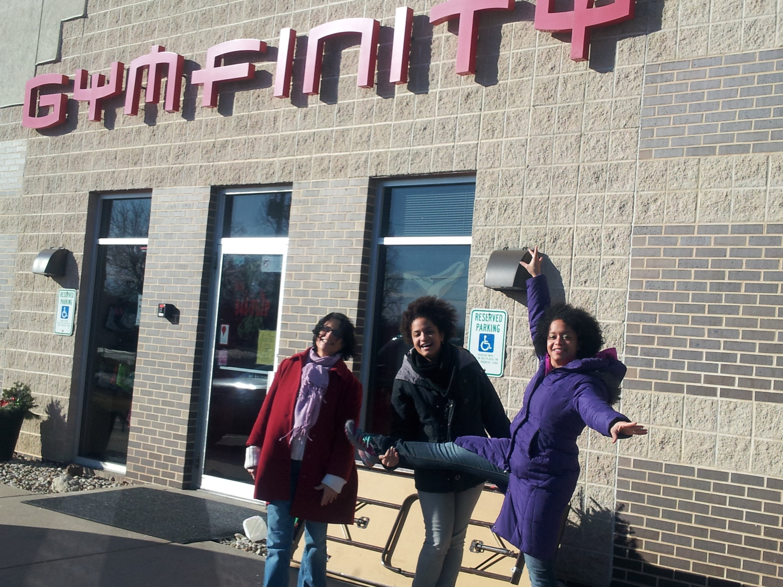 Being a Gymfinity Team Family -
