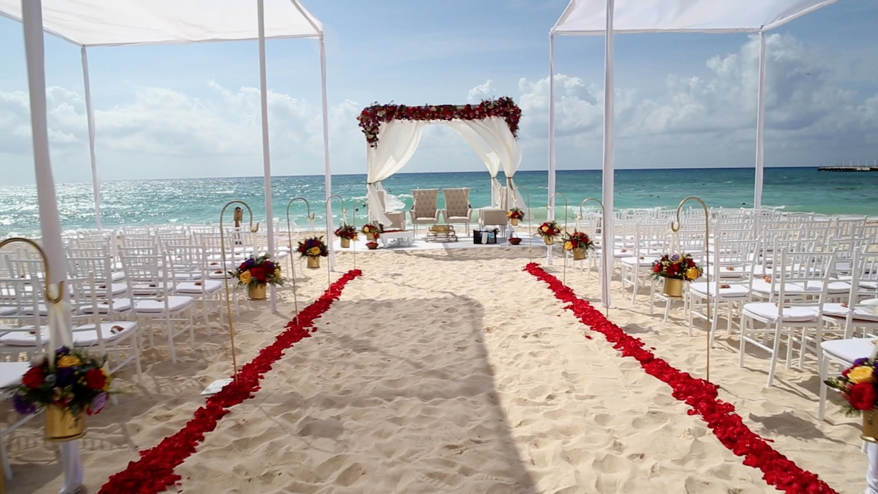 Playa Del Carmen Destination Wedding Cinematographers
