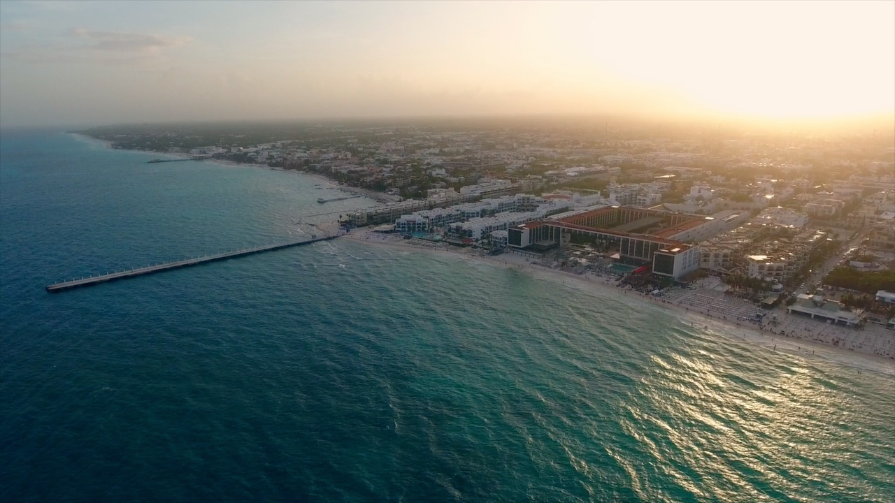 Grand Hyatt Playa Del Carmen Resort (Aerial Videography Still)