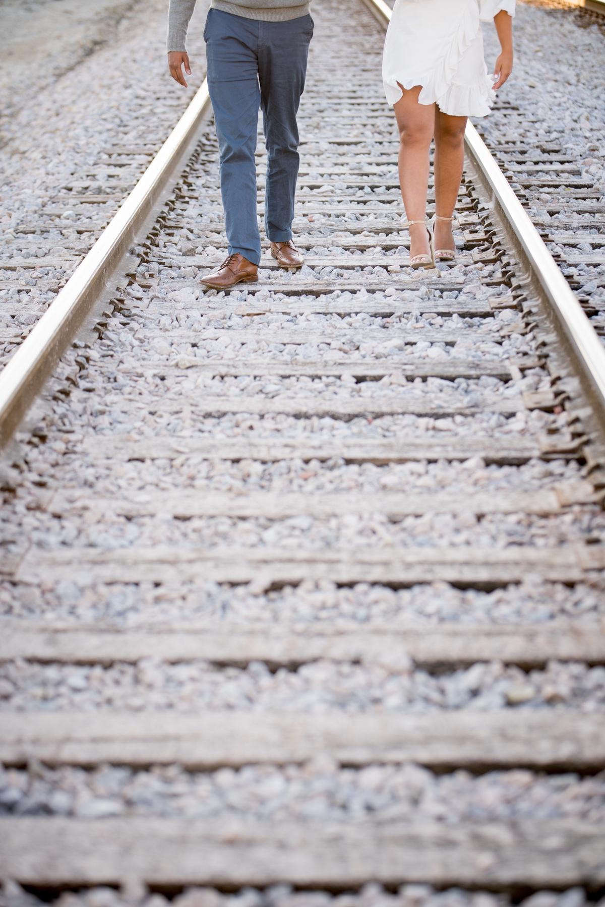 Train - Tracks in the City