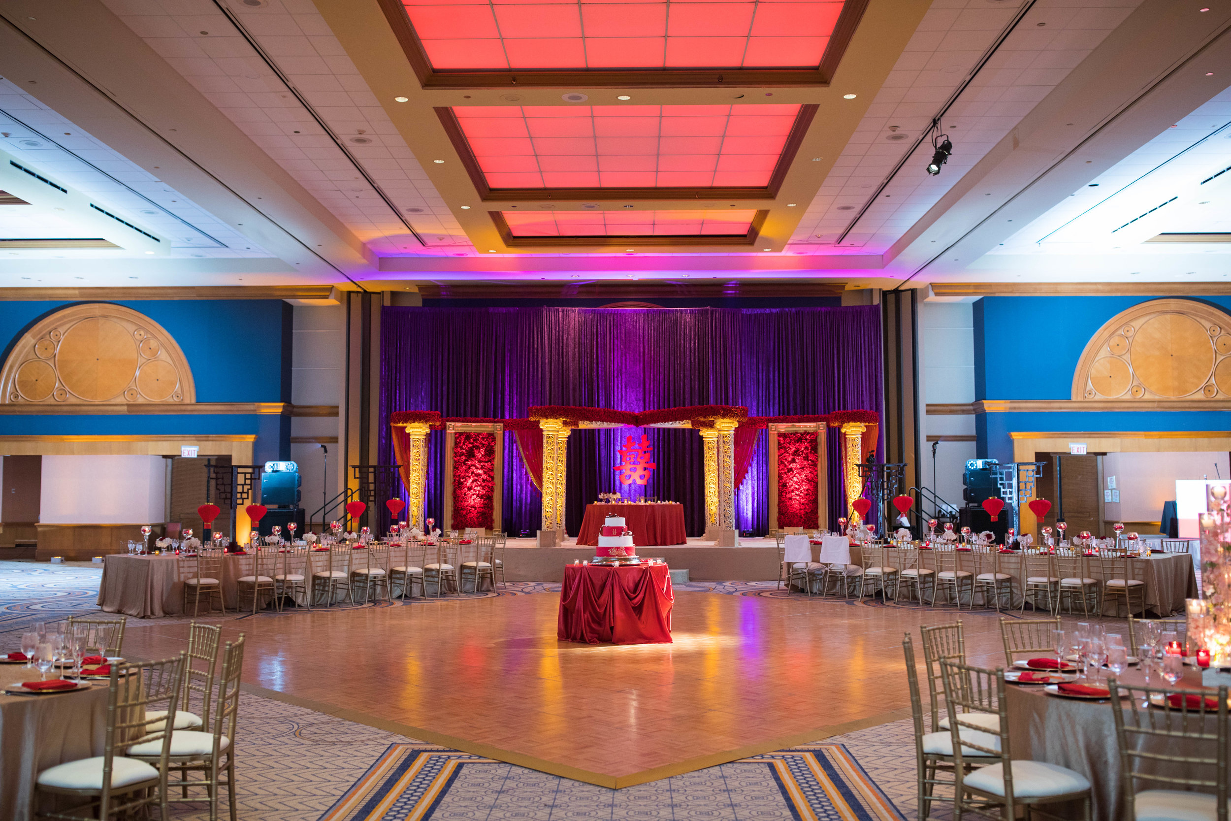 Reception - A fabulous celebration at the beautiful Sheraton Grand Chicago hotel.
