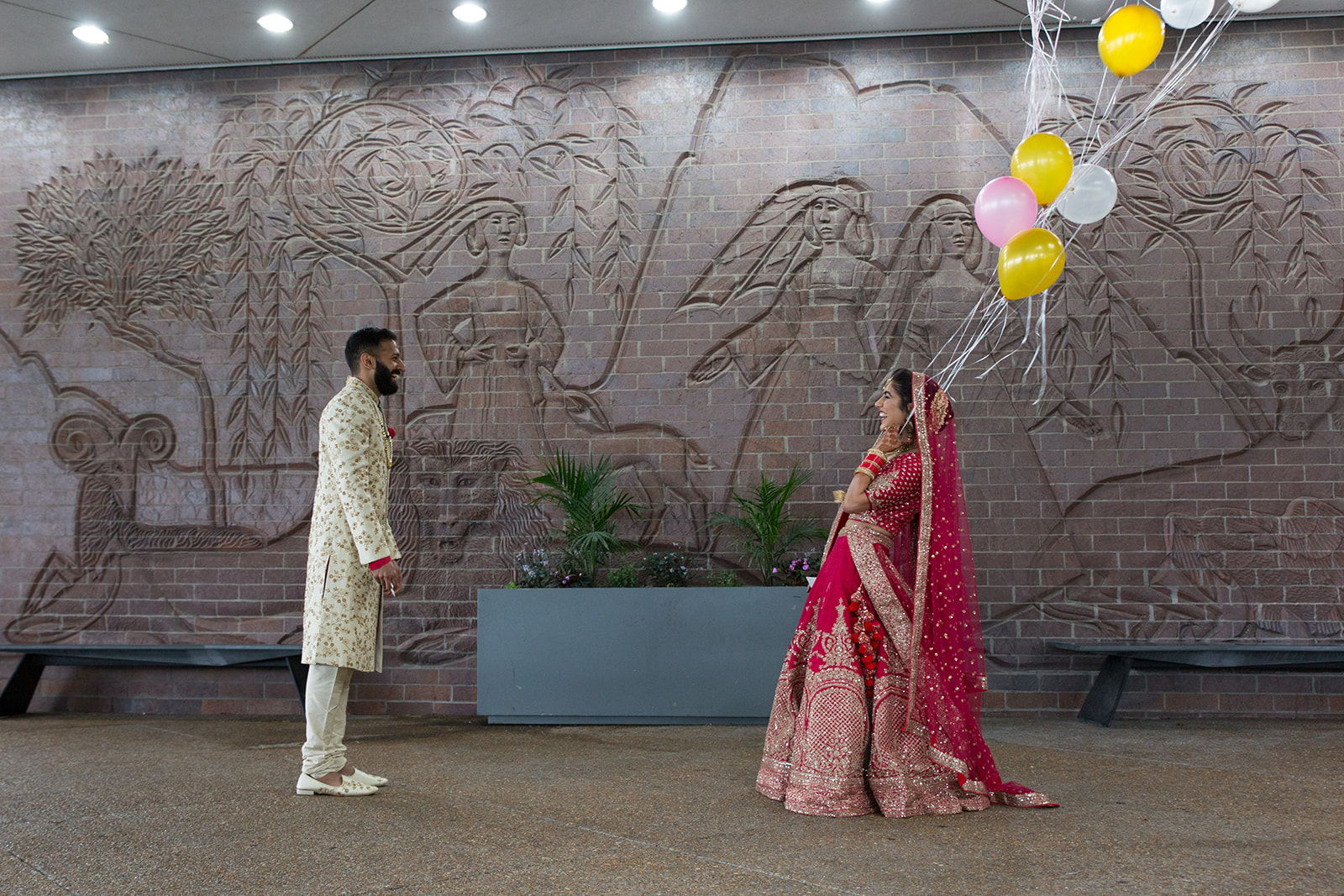 Le Cape Weddings - South Asian Wedding Sumeet and Chhavi - First Look S-3.jpg