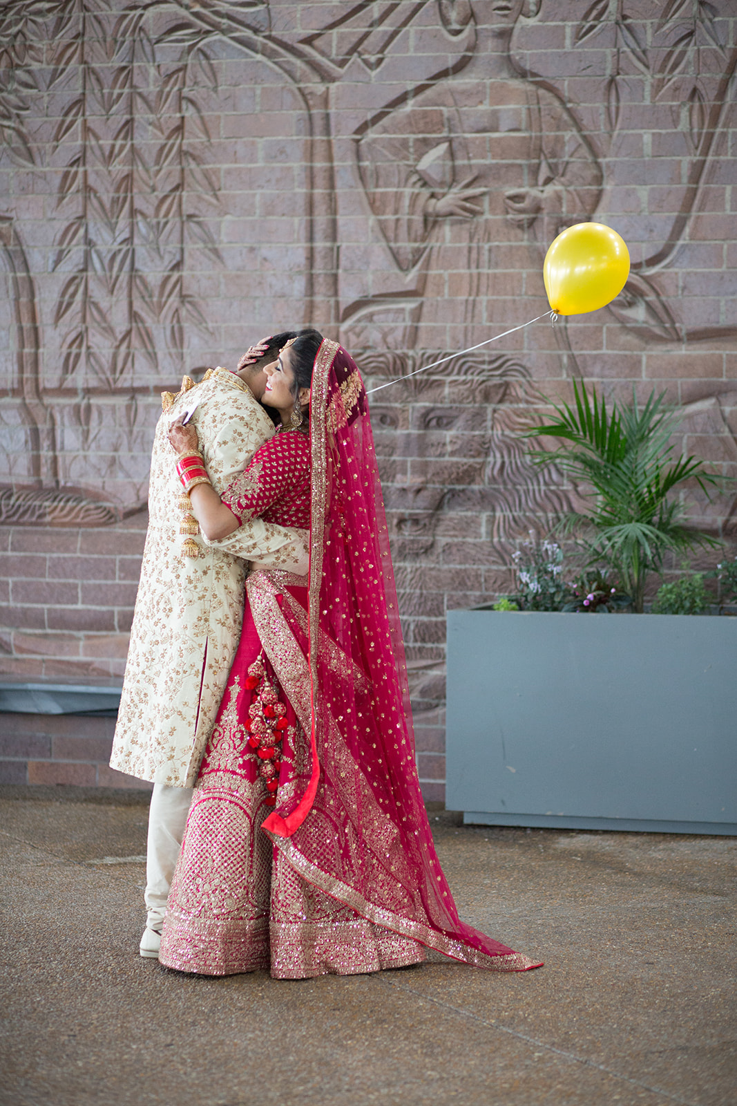 Le Cape Weddings - South Asian Wedding Sumeet and Chhavi - First Look S-9.jpg