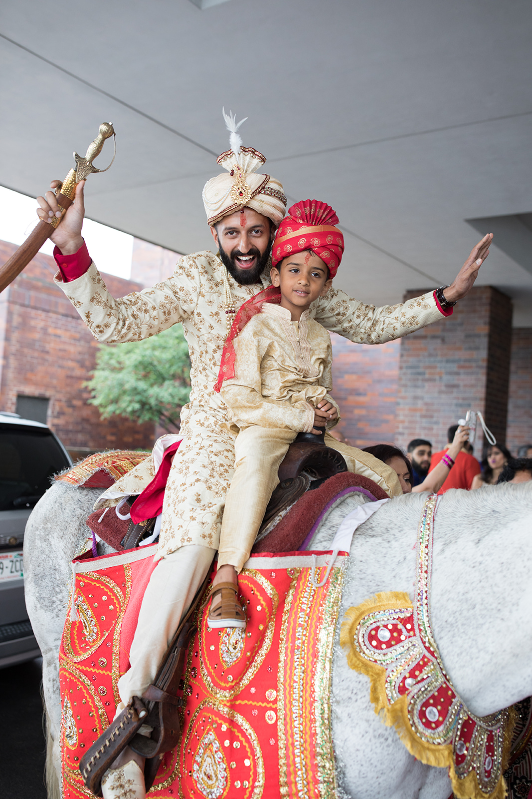 Le Cape Weddings - Sumeet and Chavi - Baraat --21.jpg