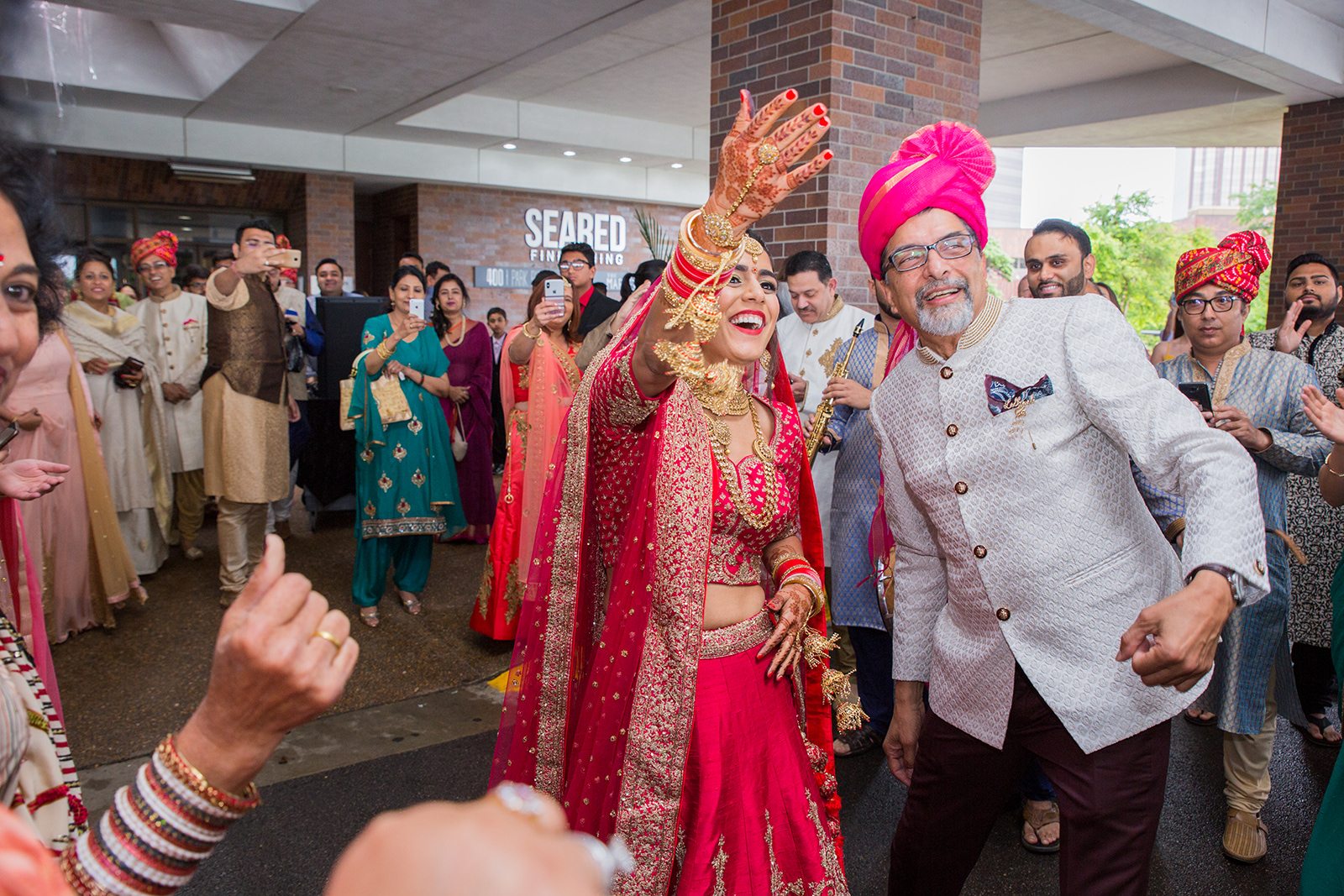 Le Cape Weddings - Sumeet and Chavi - Baraat --53.jpg