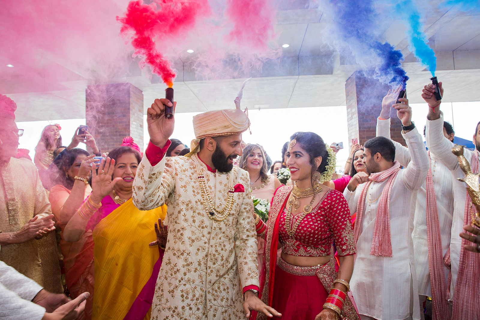 Le Cape Weddings - Sumeet and Chavi - Baraat --69.jpg