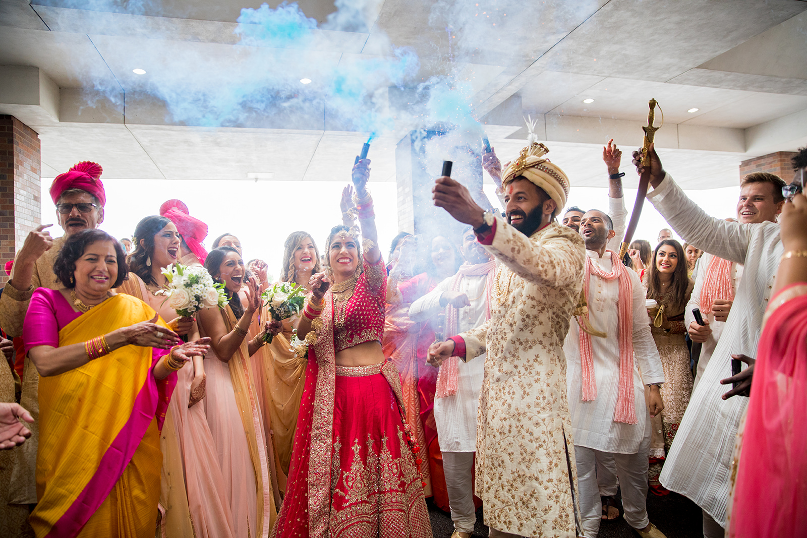 Le Cape Weddings - Sumeet and Chavi - Baraat --71.jpg