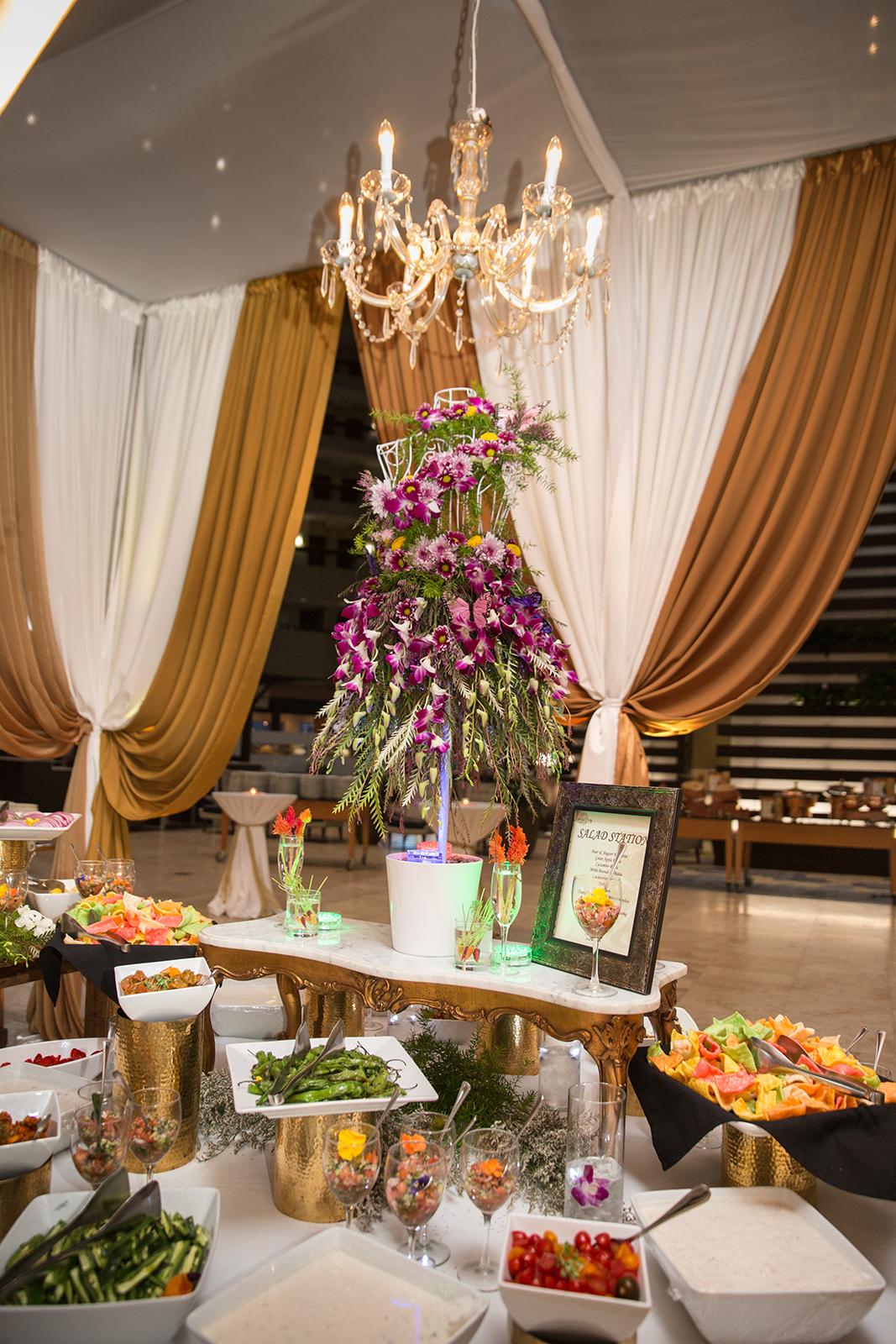 Le Cape Weddings - Sumeet and Chavi - Reception Dinner Buffet    -4.jpg