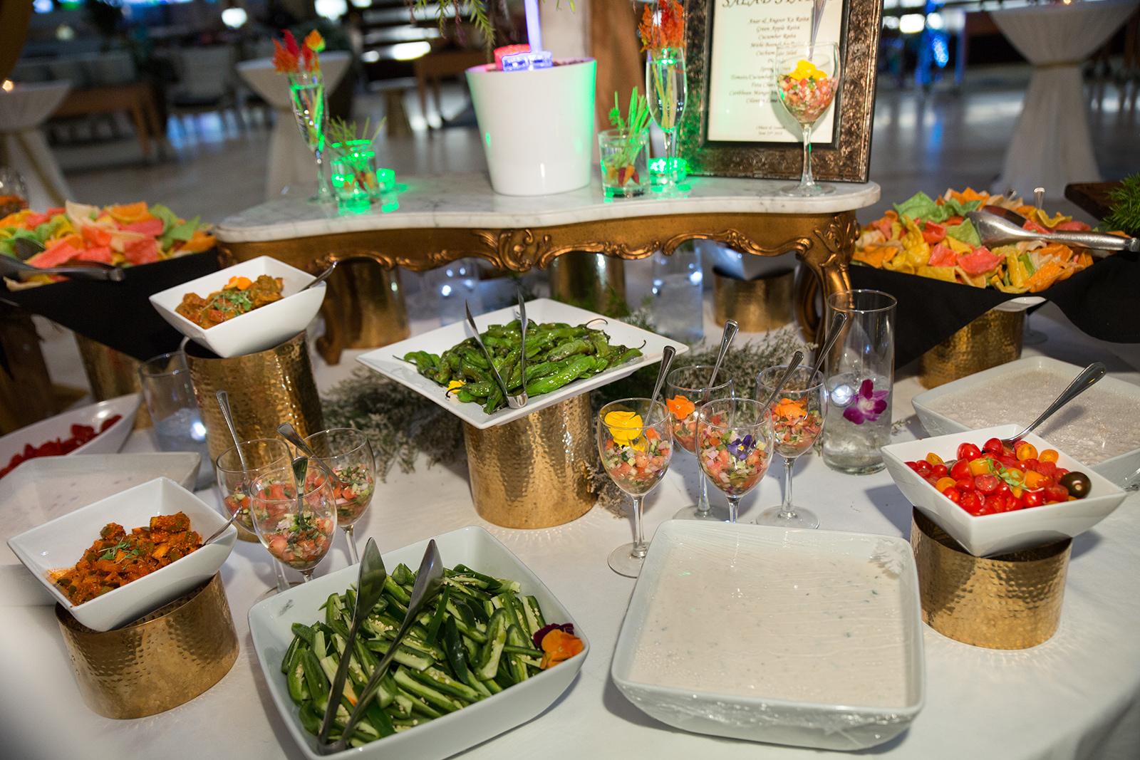 Le Cape Weddings - Sumeet and Chavi - Reception Dinner Buffet    -6.jpg