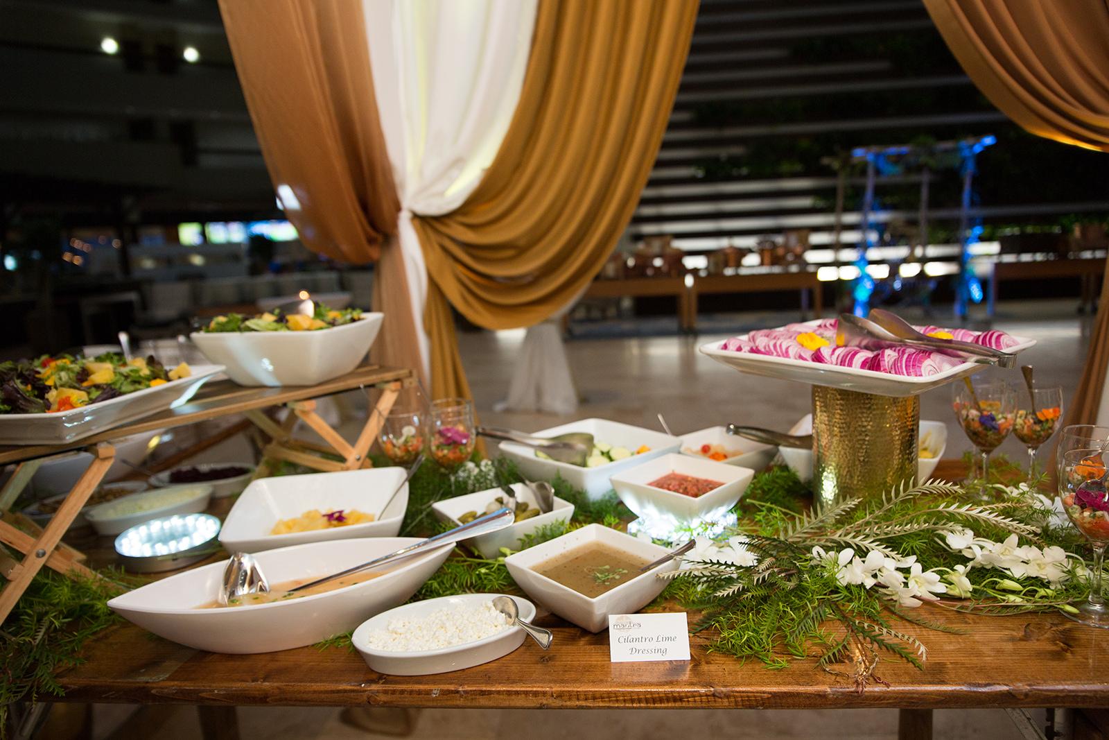 Le Cape Weddings - Sumeet and Chavi - Reception Dinner Buffet    -8.jpg