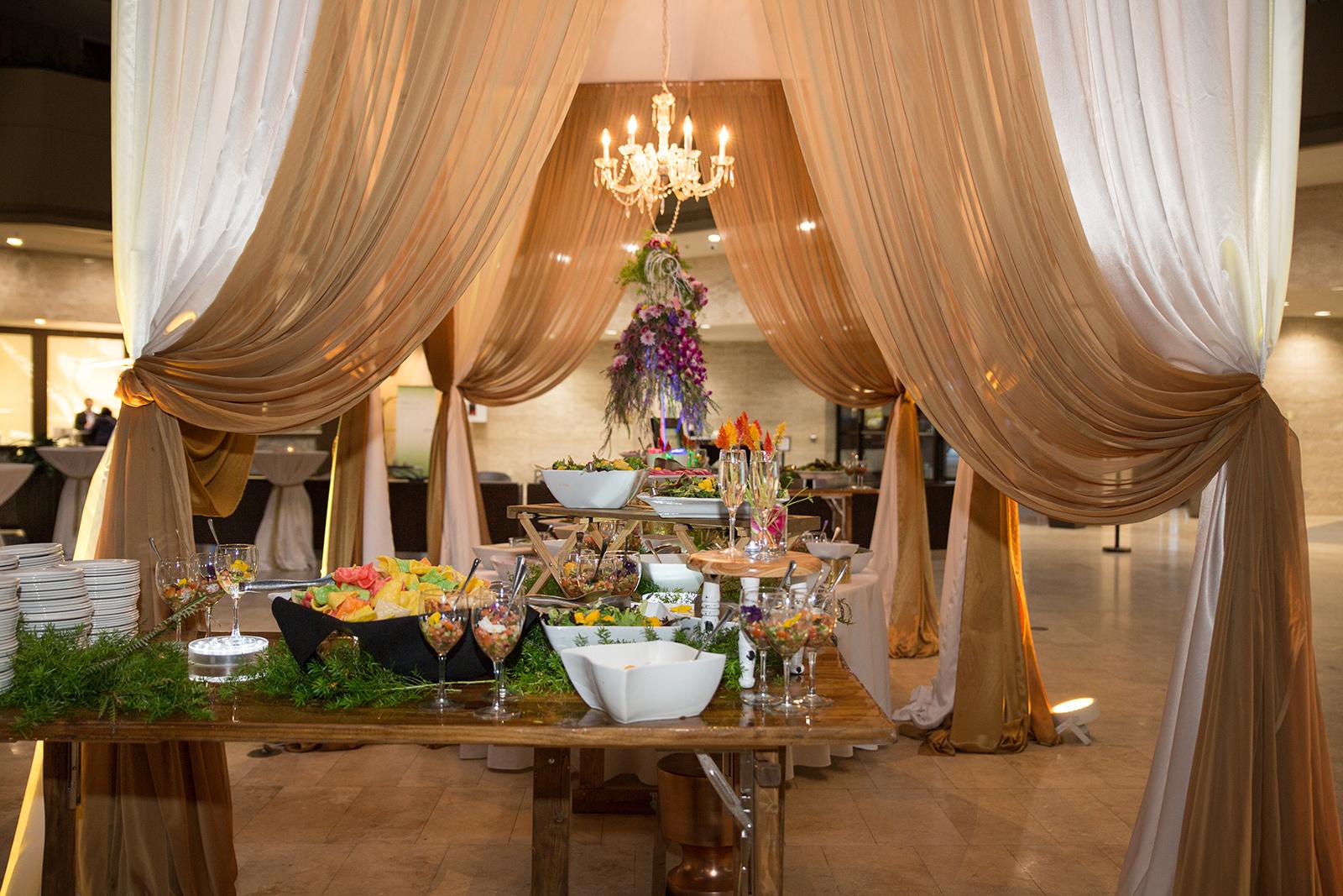 Le Cape Weddings - Sumeet and Chavi - Reception Dinner Buffet    -9.jpg