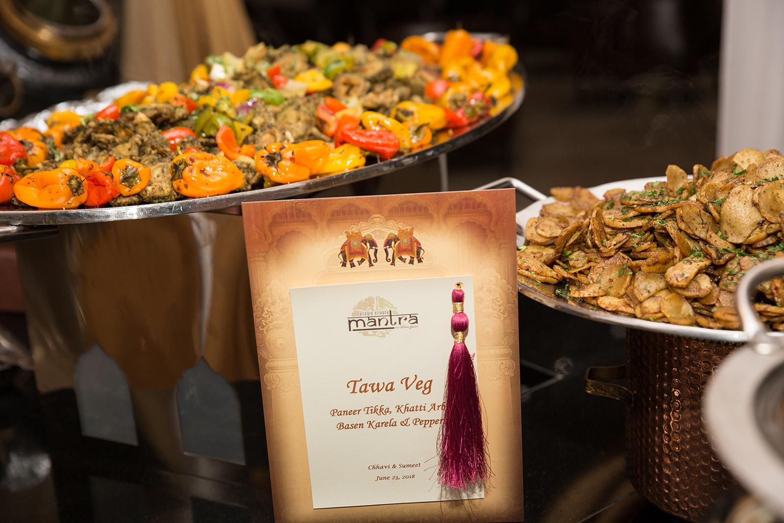 Le Cape Weddings - Sumeet and Chavi - Reception Dinner Buffet    -14.jpg