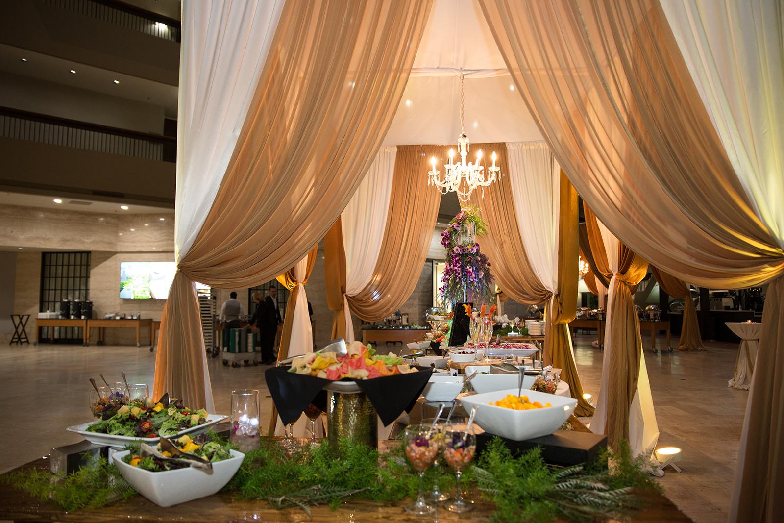 Le Cape Weddings - Sumeet and Chavi - Reception Dinner Buffet    -19.jpg