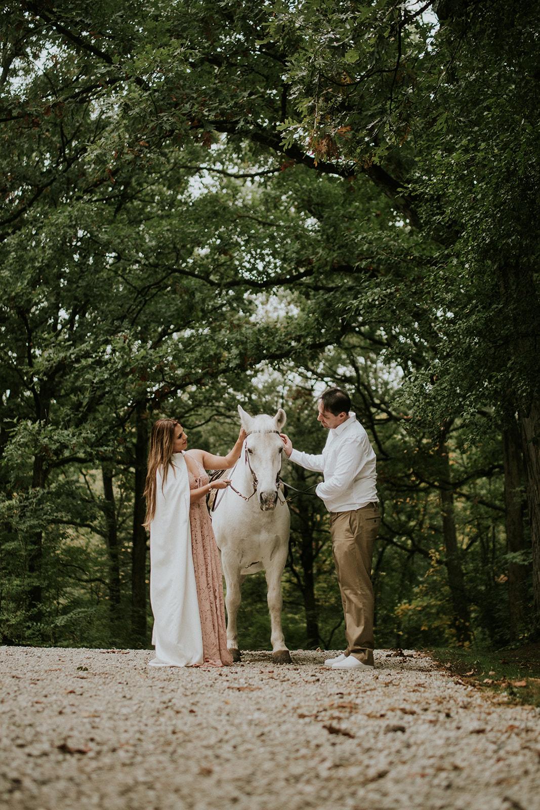 Le Cape Weddings - Boho Styled Shoot - Bride on Horse -7.jpg