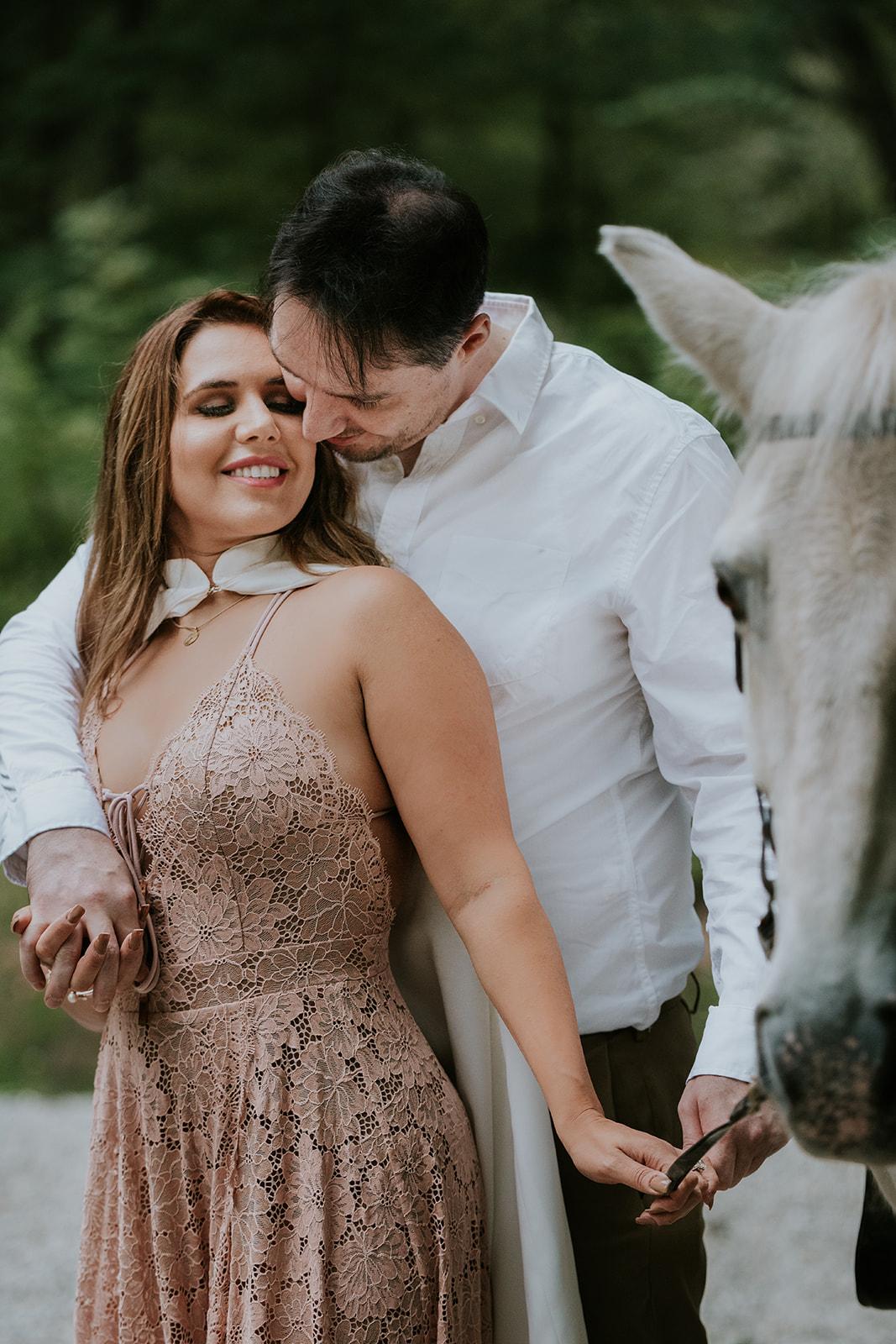 Le Cape Weddings - Boho Styled Shoot - Bride on Horse -11.jpg