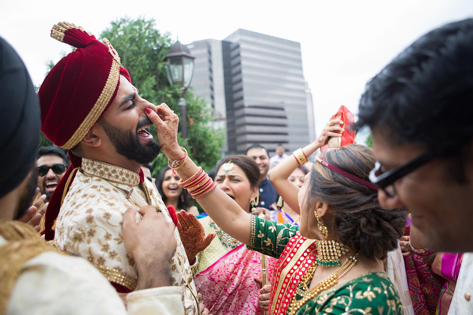 Le Cape Weddings - Baraat - Rimi and Rohun -47.jpg