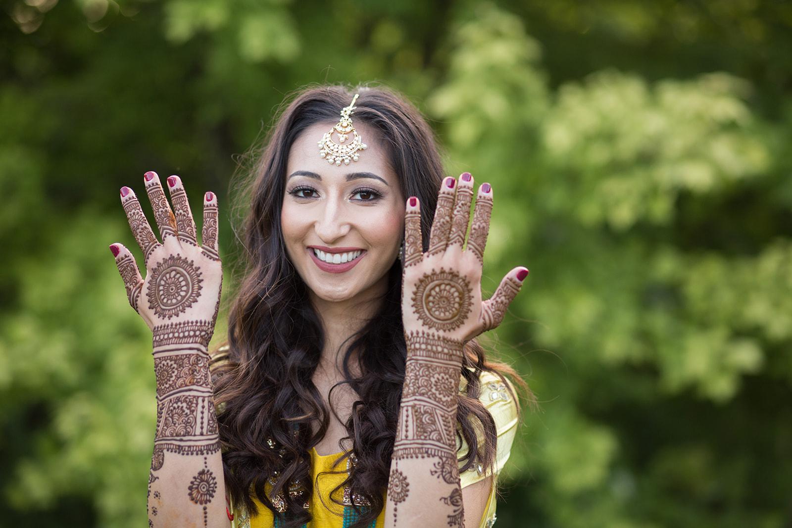 Le Cape Weddings - Puja and Kheelan - Mendhi A   -24.jpg