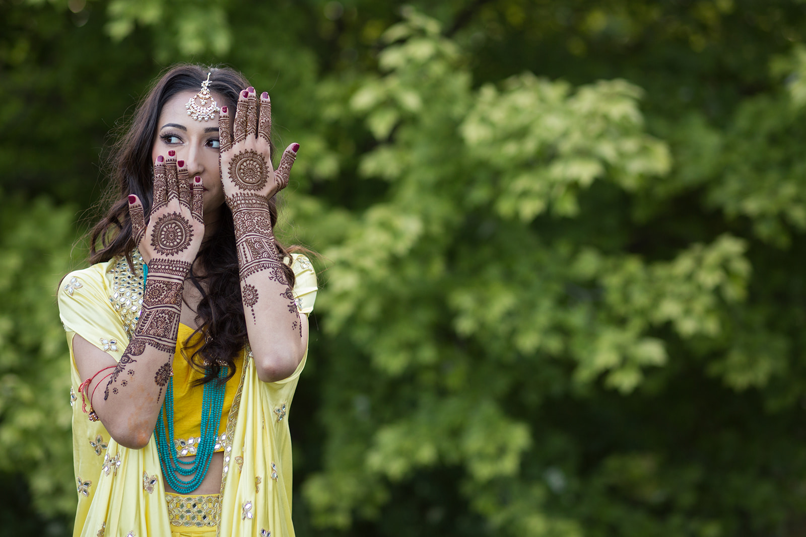 Le Cape Weddings - Puja and Kheelan - Mendhi A   -33.jpg