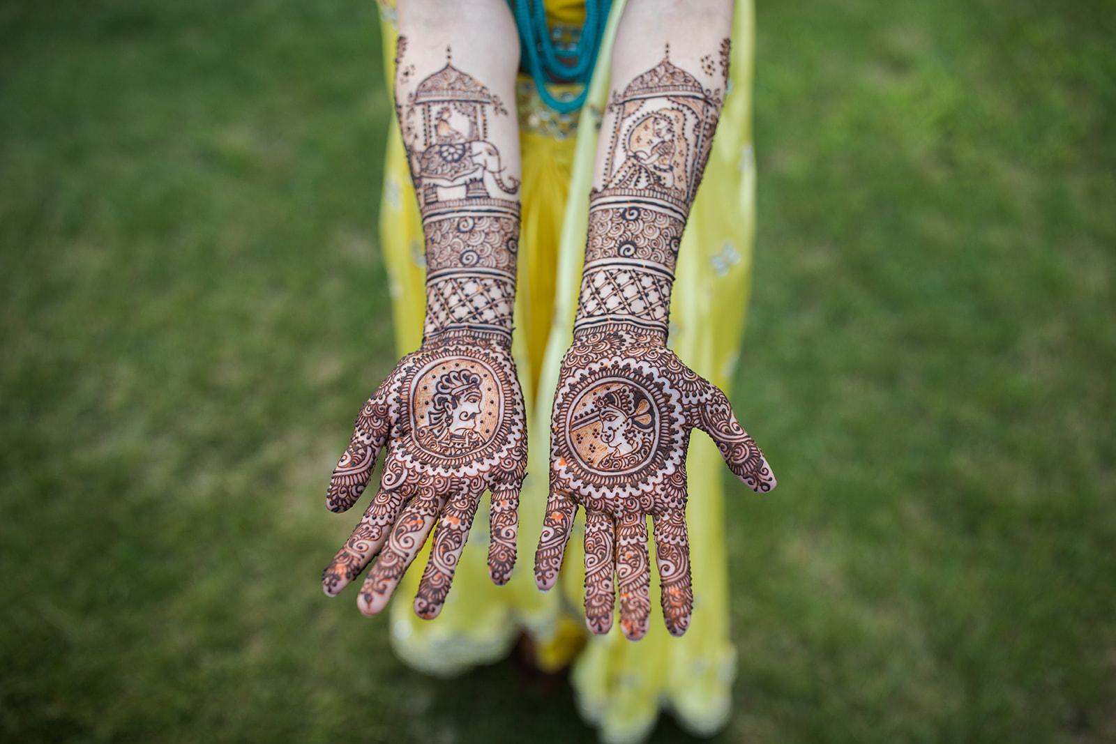 Le Cape Weddings - Puja and Kheelan - Mendhi A   -21.jpg