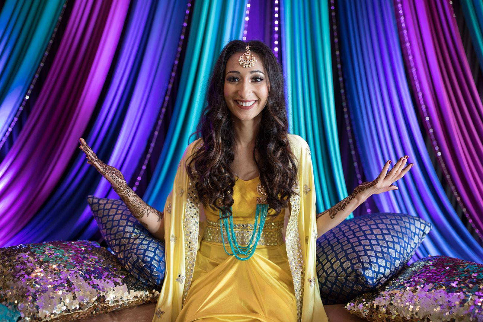 Le Cape Weddings - Puja and Kheelan - Mendhi A   -67.jpg