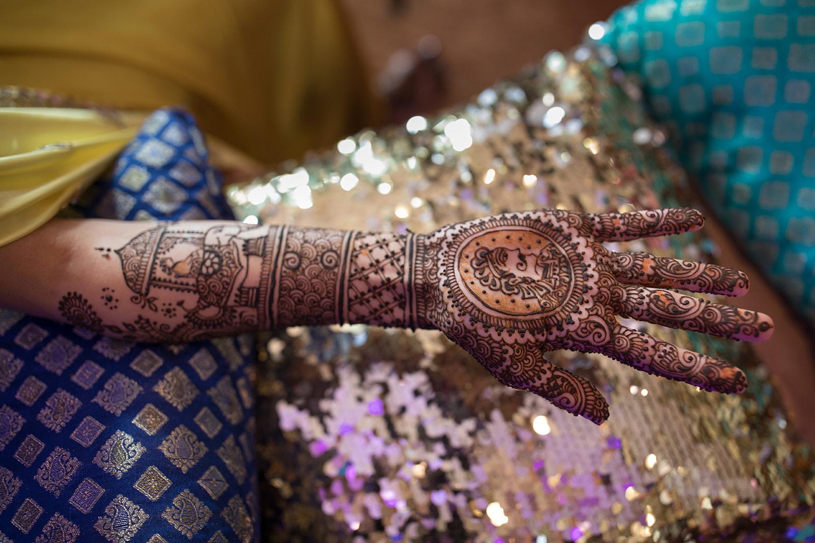 Le Cape Weddings - Puja and Kheelan - Mendhi A   -69.jpg