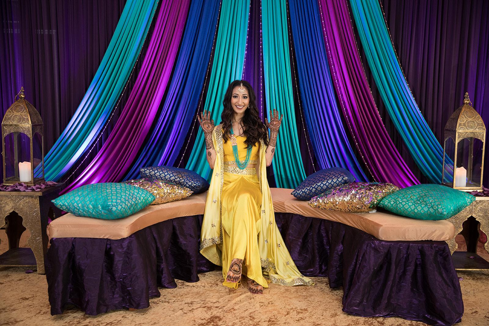 Le Cape Weddings - Puja and Kheelan - Mendhi A   -95.jpg