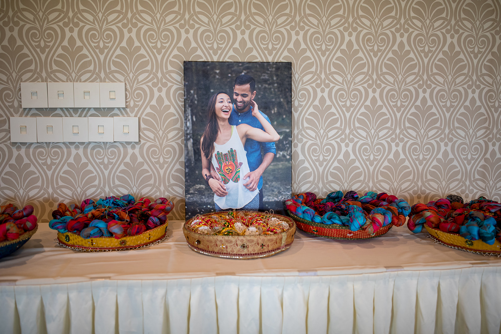Le Cape Weddings - Puja and Kheelan - Mendhi A   -53.jpg