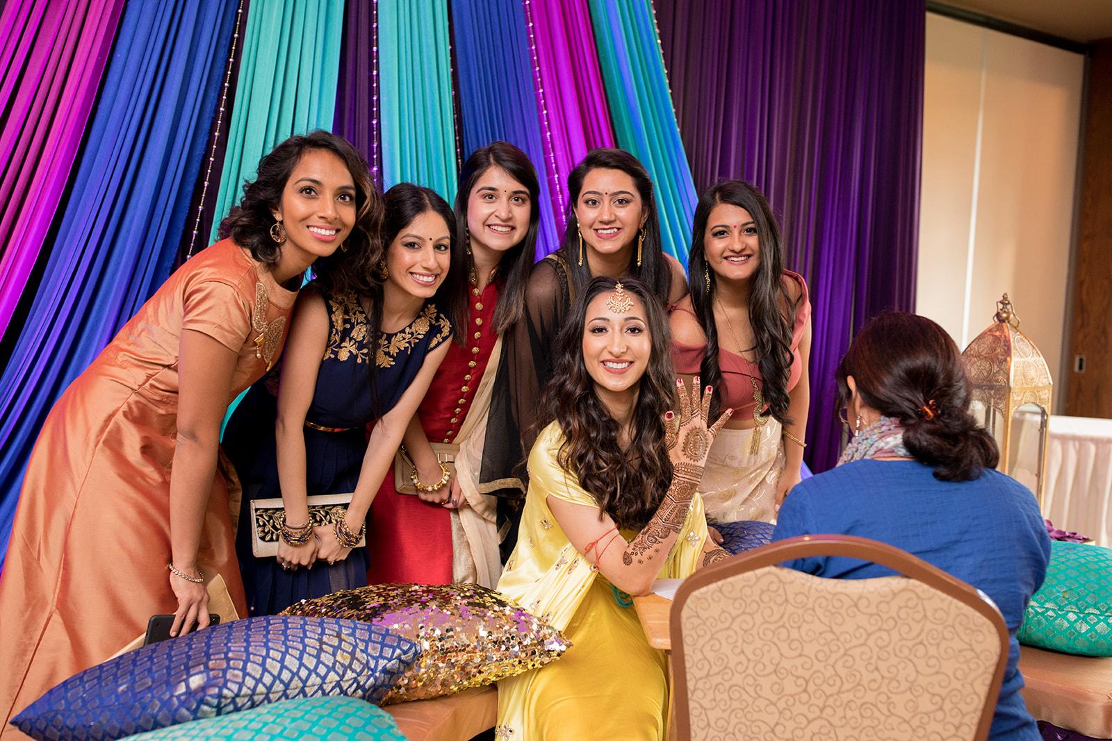 Le Cape Weddings - Puja and Kheelan - Mendhi A   -86.jpg