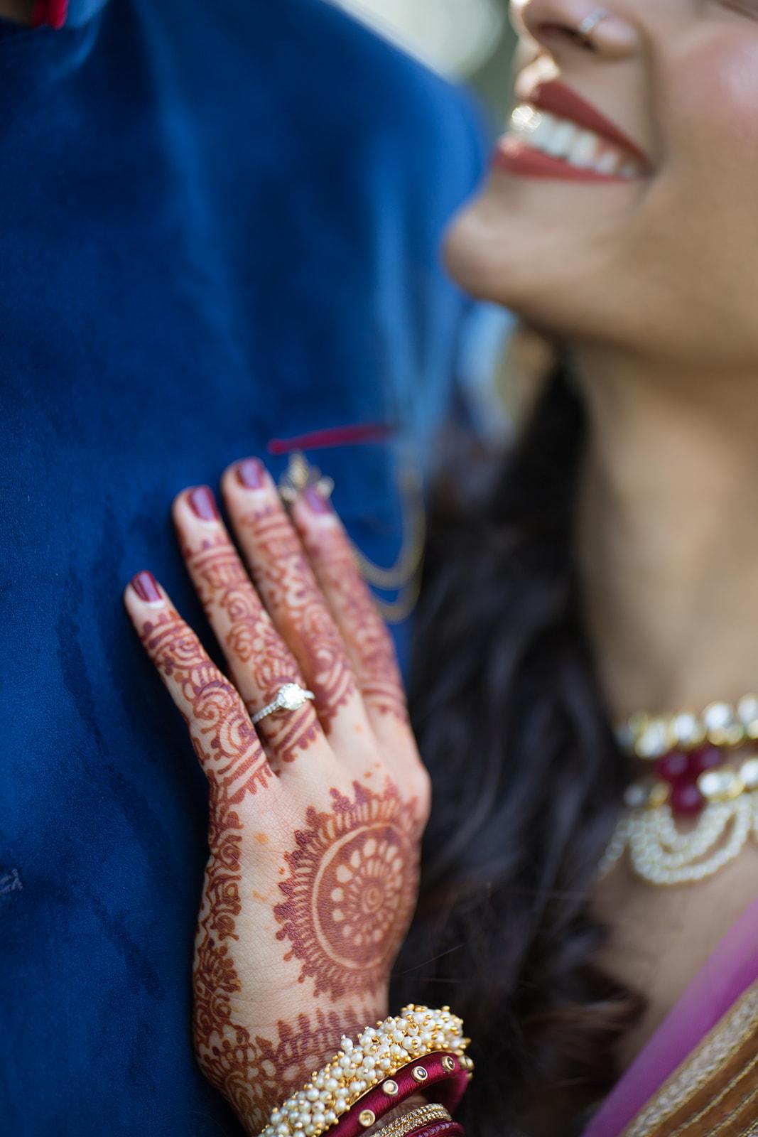 Le Cape Weddings - Puja and Kheelan - Garba A   -32.jpg